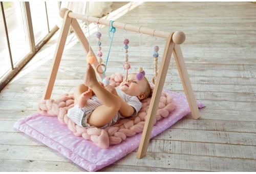 Развивающий коврик BabyGym  - Сердечки