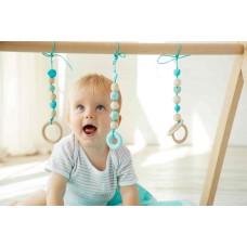 Развивающий коврик BabyGym  - Мятный