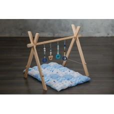 Развивающий коврик BabyGym  - Синий