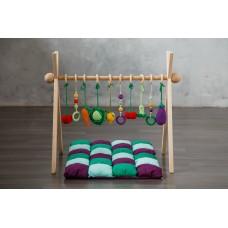 Развивающий коврик BabyGym  - Овощи FULL