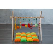 Развивающий коврик BabyGym  - Фрукты  FULL