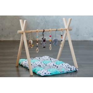 Развивающий коврик BabyGym  - Джунгли