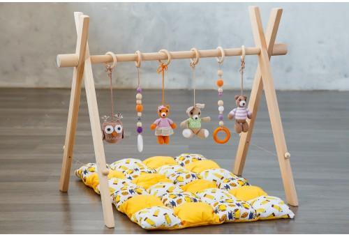 Развивающий коврик BabyGym  - Лесной