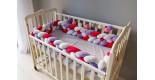 Бортик косичка в детскую кроватку -Good Morning