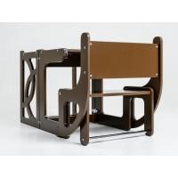 Башня помощника - трансформер - стол + стул Tarwus Black Стул Башня Монтессори