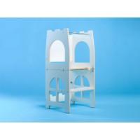 Башня Монтессори - Башня помощника трансформер - стол + стул Tarwus Castle Blackboard