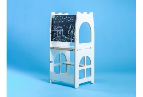 Башня Монтессори - Башня помощника, детская стремянка трансформируемая в стол и стул