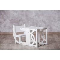 Башня помощника - трансформер - стол + стул Tarwus Стул Башня Монтессори